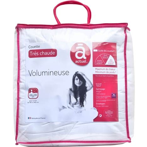 Couette 400g by Couette Tr 232 S Chaude Volumineuse 400g M 178 Actuel Pas Cher 224