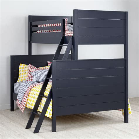 Land Of Nod Bunk Beds Uptown Bunk Bed Navy The Land Of Nod