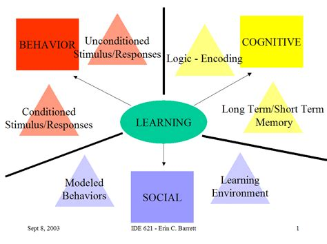 The Ories Of Learning introduction to theories of learning teaching