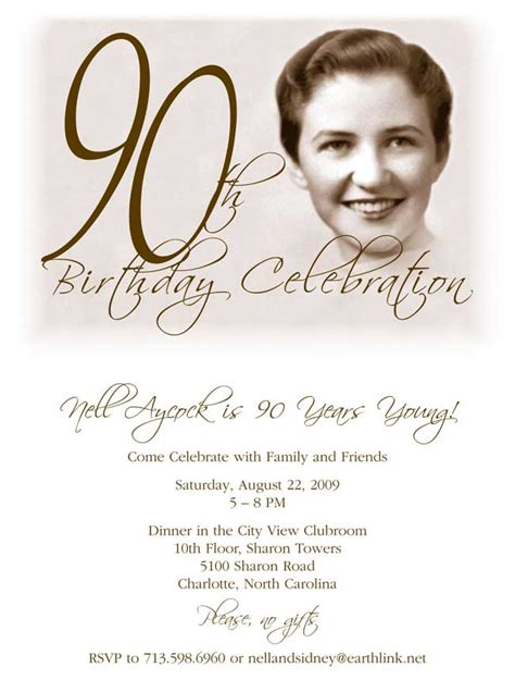 90th birthday invites templates 90th birthday invitation turns 90