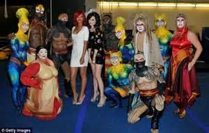 rihanna throws a cirque du soleil hen party for katy perry