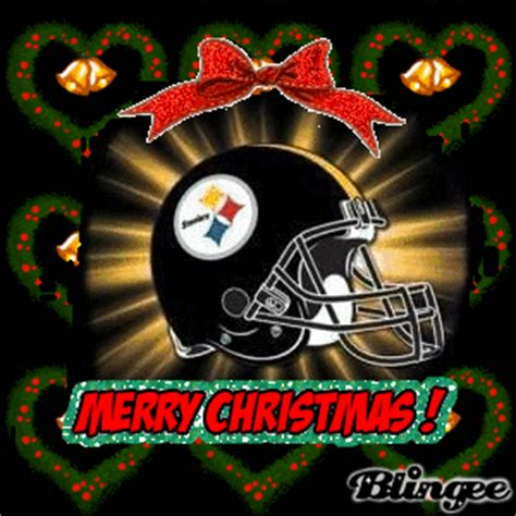 images of a steelers christmas tree steelers picture 37451462 blingee