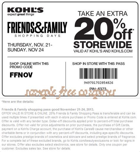 free printable kohls coupons kohl s coupons may 2014