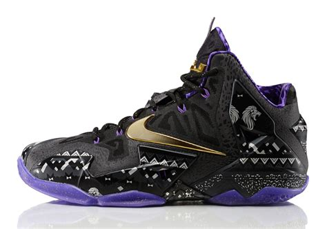 www lebron nike lebron 11 quot bhm quot release reminder sneakernews com