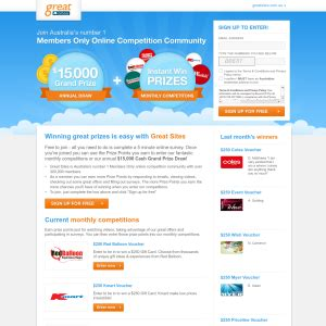 Win Money Competitions Australia - great sites nz competitions cash competitions australia
