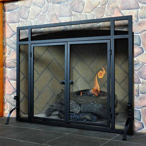 where to buy fireplace doors vintage fireplace screens with doors for family room