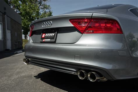 Audi A6 Auspuff by Armytrix Stainless Steel Valvetronic Catback Exhaust