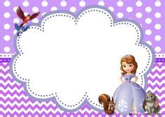 Sofia Polka Minnie Cantik 388 frames juvenile on journal cards disney princess and page borders