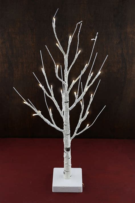 12 foot lighted tree 2 foot lighted led birch tree warm white