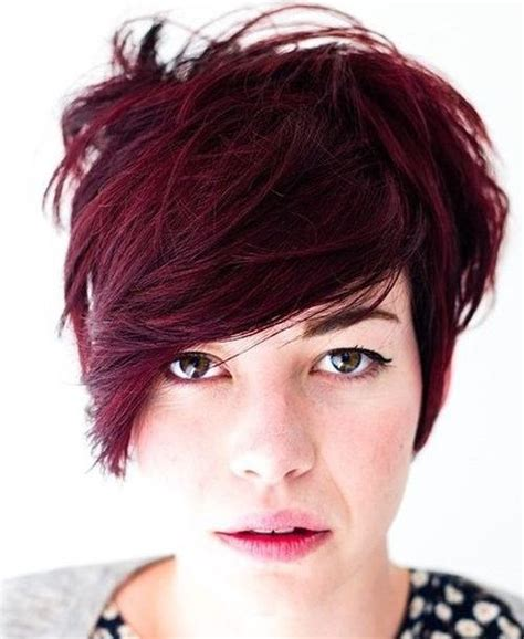 easiest bangs to maintain 15 short shag hairstyles