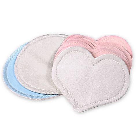 Bamboobies Reusable Breastpad Multipack Multicolor bamboobies 174 multi pack washable nursing pads in light pink