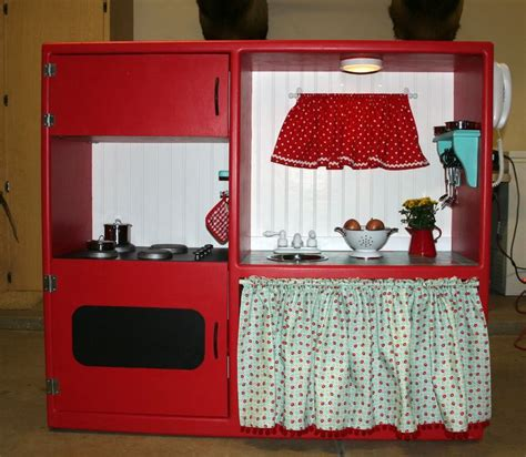 play kitchen reinvented from old furniture for my best 25 old tv stands ideas on pinterest dresser tv tv