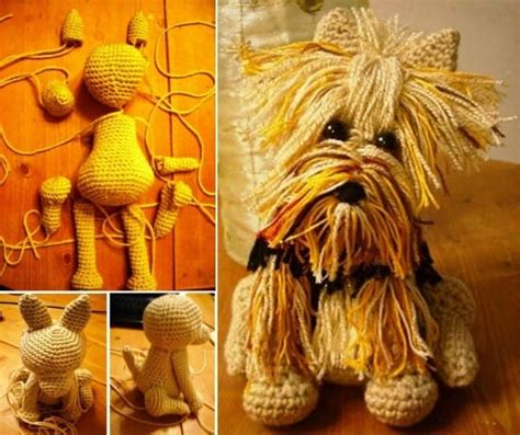 crochet yorkie free crochet yorkie pattern with the whoot