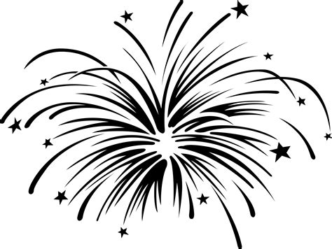 black and white fireworks clipart black and white free clipart cliparting