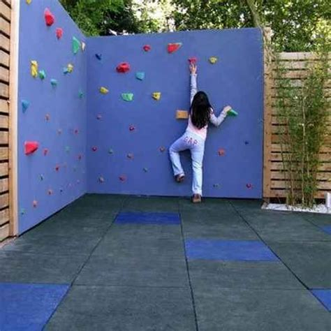 diy outdoor climbing wall 25 best ideas about rock climbing walls on pinterest