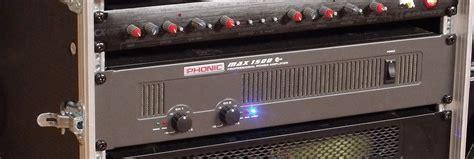 Phonic Max1500 Plus Power Lifier phonic ph max 1500 image 433408 audiofanzine