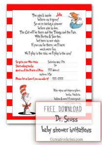 dr seuss template dr seuss baby shower invites template best template
