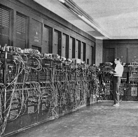 Eniac On Computers Historical Development Of Computers