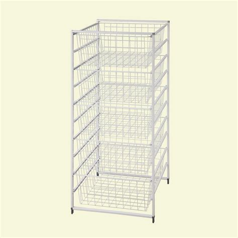 Wire Drawers For Closet by Drawer Kit 5 Wire Baskets Bins Racks Storage Metal