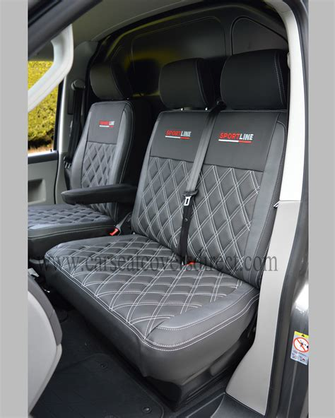 vw cer upholstery vw transporter t5 seat covers black pewter grey w