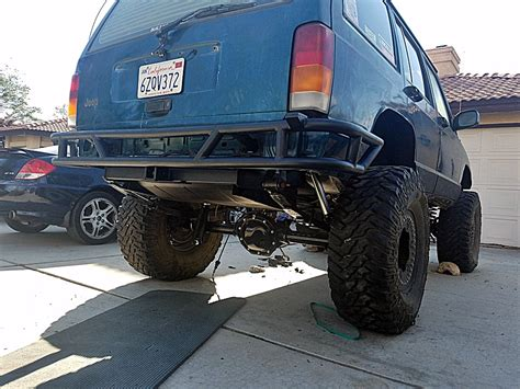 homemade jeep rear bumper your homemade rear bumpers jeep cherokee forum