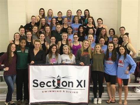 section xi swimming 2016 girls suffolk county chionship results section