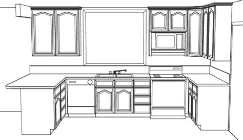 kitchen cabinet design drawing kitchen elevation line drawing cabinets drawers appliances simple kitchen drawing kitchen cabinet design drawing