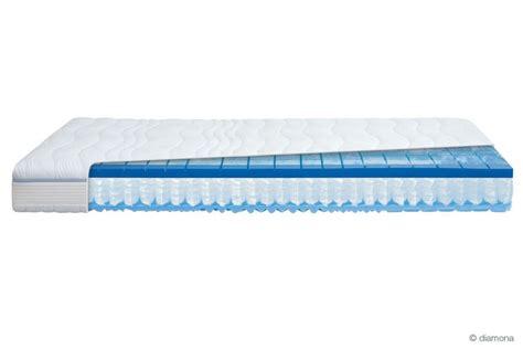matratze 80x200 federkern diamona blue activ 174 gti taschenfederkern gelax