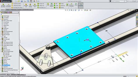 linear pattern up to reference solidworks 2015 sneak peek up to reference pattern