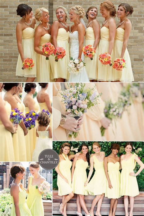 wedding colour themes bridesmaid dresses etc bridesmaid dress colors for spring wedding wedding short