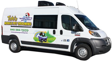 toto mobili totos mobile pet grooming we bring the salon to you