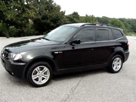 2006 bmw x3 sport package 2006 06 bmw x3 3 0i sport package personal used car review