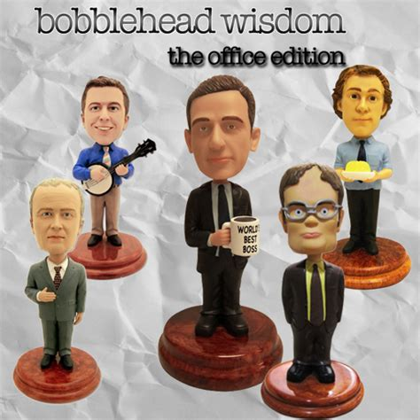 bobblehead the office app of the day bobblehead wisdom the office edition