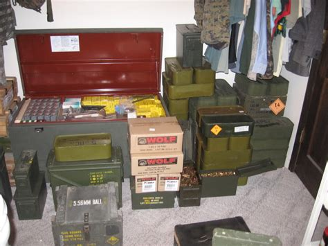 ammo storage question of the day how do you store your ammo the
