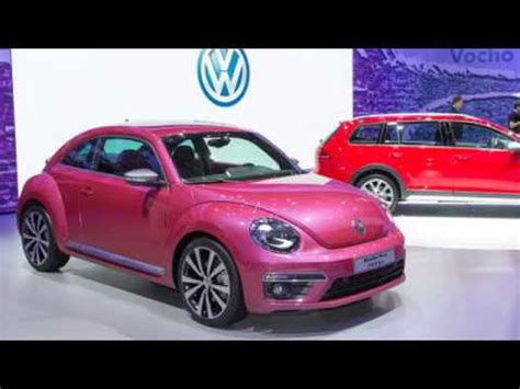 pink volkswagen beetle 2017 2017 volkswagen beetle pink color full edition review