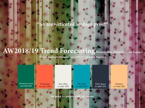 aw2018 2019 trend forecasting on pantone canvas gallery aw2018 2019 trend forecasting on pantone canvas gallery