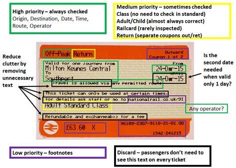 email layout explained train ticket layout simulator