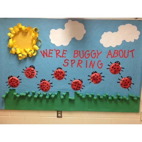 themes of gold bug preschool spring bulletin boards springtime preschool