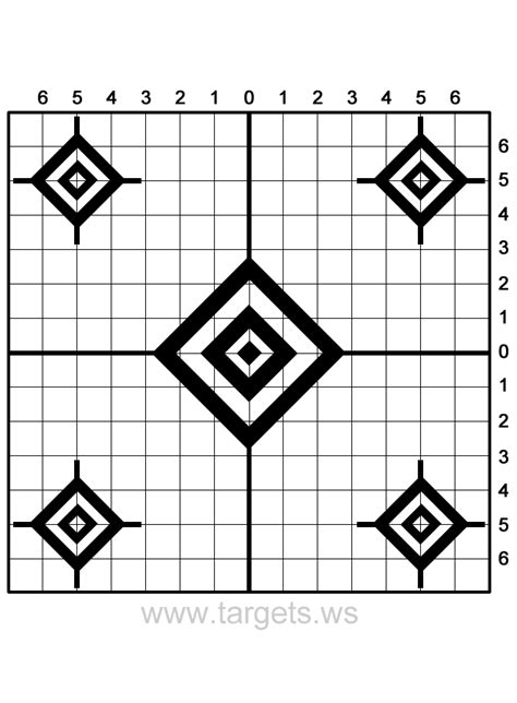 printable rifle targets targets print your own sight in shooting targets
