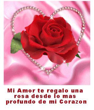imagen de amor de una rosa con corazones rosados 6 im 225 genes bonitas de amor con movimiento para descargar