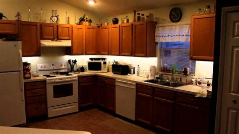 kitchen under cabinet lighting led lighting under cabinet lighting kitchen diy youtube