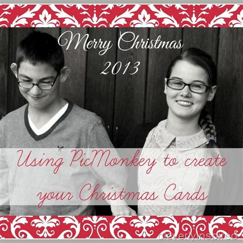 How To Use Etsy Gift Card - how to use picmonkey to create your christmas cards diy christmas cards cleverly