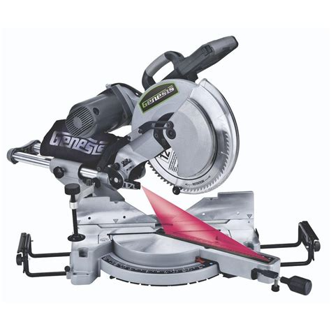 genesis 12 in dual bevel sliding compound miter saw