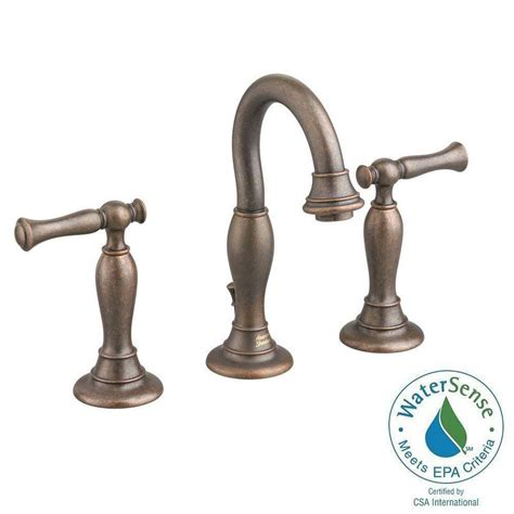 American Standard Quentin 8 In Widespread 2 Handle High Rubbed Bronze Widespread Bathroom Faucet