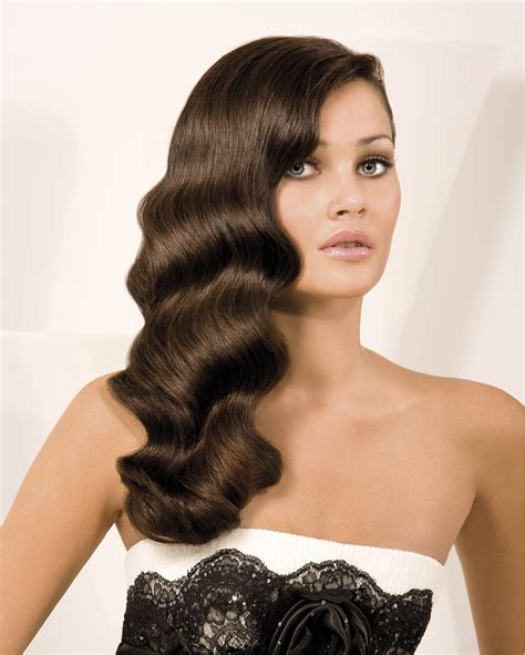 how to do 1920 hairstyles 1920s hairstyles for long hair designs waterfall wavy hair
