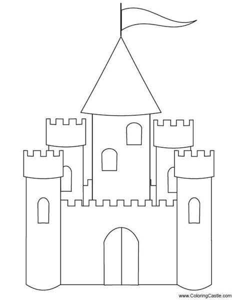 castle cut out template castle cut out template printable house cut out template