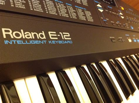 Keyboard Roland Seri E my roland e 12 intelligent keyboard giveaway my piano