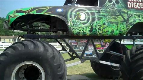grave digger monster truck north carolina grave digger monster trucks garage full tour located in
