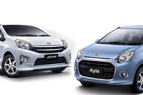 Tv Mobil Toyota Agya mobil daihatsu ayla dan toyota agya images