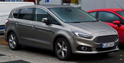Ford S Max by File Ford S Max Titanium Ii Frontansicht 8 November